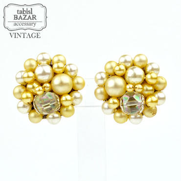 【American Vintage】Earrings ヴィンテージイヤリング pearl from Los Angeles