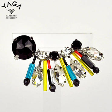 【YAGA】 Zipang Earclip ジパングイヤークリップ マルチ