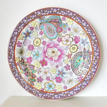 【tabisl BAZAR vintage collection】マカオで見つけた骨董プレート flower