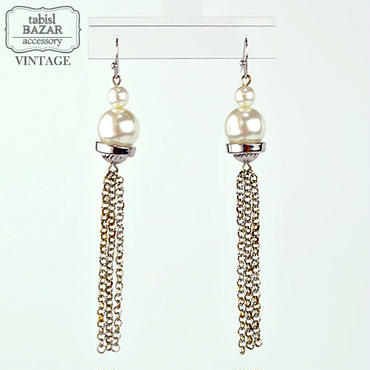 【American Vintage】Earrings ヴィンテージピアス Chain from Los Angeles