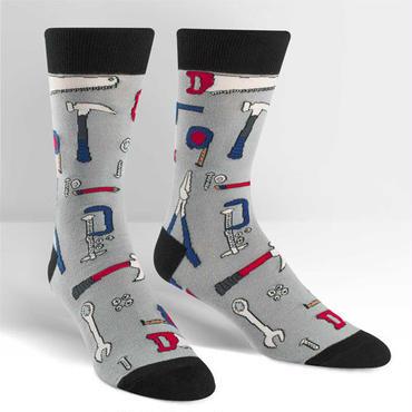 "【Sock it to me】""Nailed It!""メンズソックス「バッチリ!」"