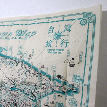布地図「台湾案内図絵」