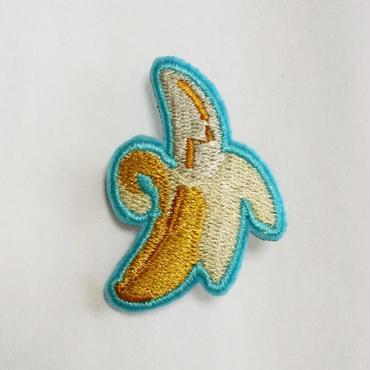 刺繍ブローチ「バナナ」