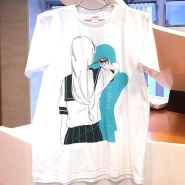 「はやく孤独に成ってね。」舘女子Tシャツ