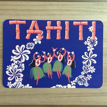 栗山義勝 タヒチアンアートボード「TAHITI」