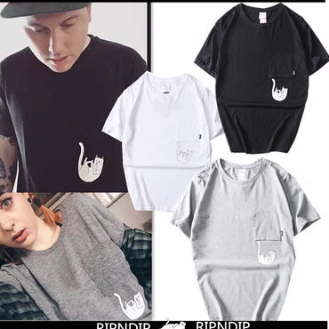 【TAKAHACI.STORE】RIPNDIP  リップンディップ  Tシャツ  半袖   メンズ   rip-1398
