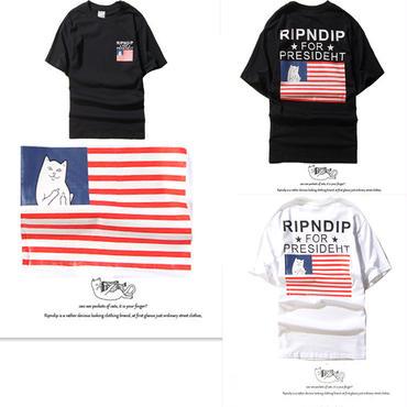 【TAKAHACI.STORE】RIPNDIP  リップンディップ  Tシャツ  半袖  トップス  プリント   rip-1302