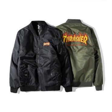 THRASHER スラッシャー  ボンバージャケット メンズ