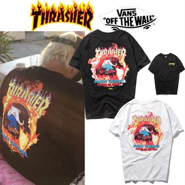 【TAKAHACI.STORE】THRASHER  スラッシャー  Tシャツ  プリント  メンズ  thra-1818