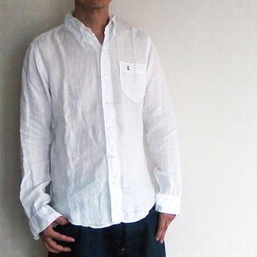 Linen B.D.Shirt / Mens
