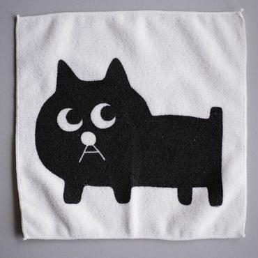 黒猫の小林さんのマイクロファイバーキッチンクロス
