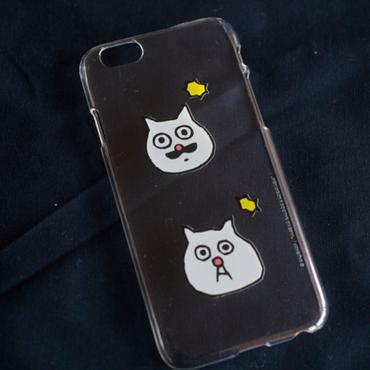 バウのKING小林さんと猫の小林さんのiPhone 7, 6, 6s, 5s, SE ケース
