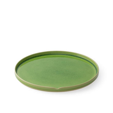 HASU 緑貫入 大皿(THS208GR)