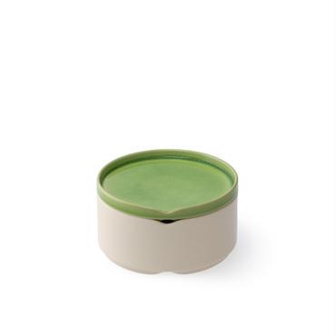 HASU緑貫入 蓋付重ね中鉢(THS210GR)