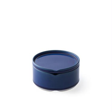HASU瑠璃貫入蓋付重ね中鉢(THS204NB)