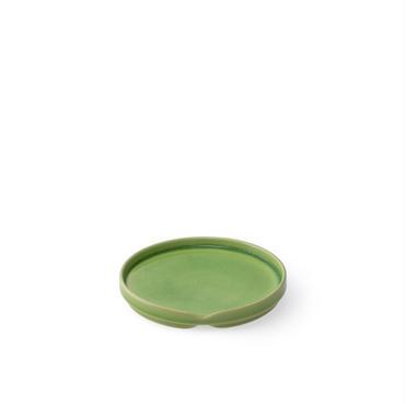 HASU緑貫入 中皿(THS209GR)
