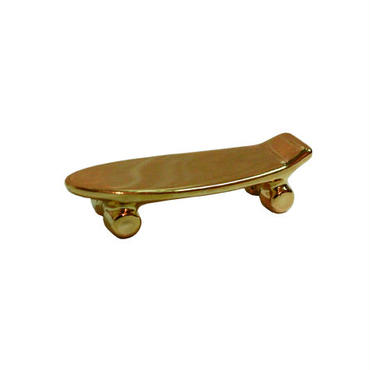 Pika Pika Skateboard chopstick rest (gold)