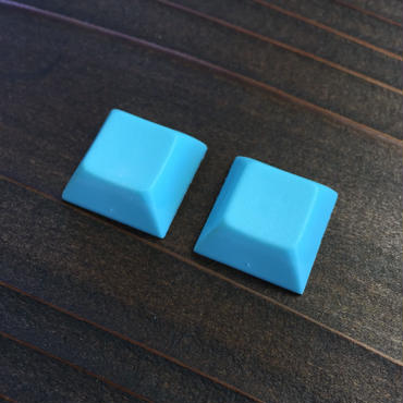 DSA PBT Keycap (2Piece/Light Blue)