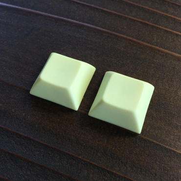 DSA PBT Keycap (2Piece/Light Yellow)