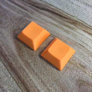 DSA PBT Keycap (2Piece/Orange)