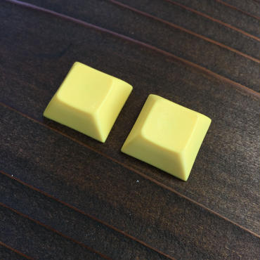 DSA PBT Keycap (2piece/Yellow)