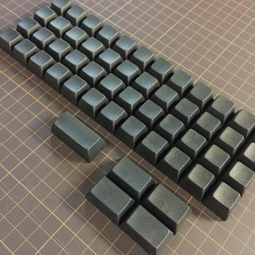SA PBT Blank Keycap (48Key/Black)