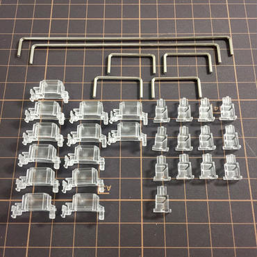 Transparent Stabilizers (6.25x 2x 7x)