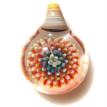 [MCPF-51]mini clear poisonous flower pendant