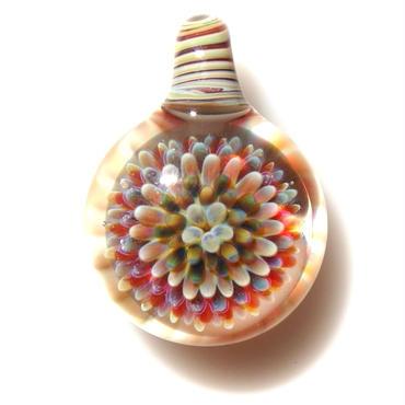 [MCPF-45]mini clear poisonous flower pendant