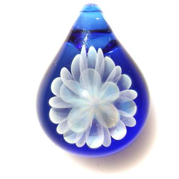 [MCN-43] mini clear flower pendant
