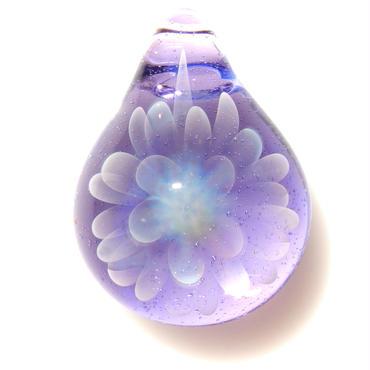 [MCN-42] mini clear flower pendant