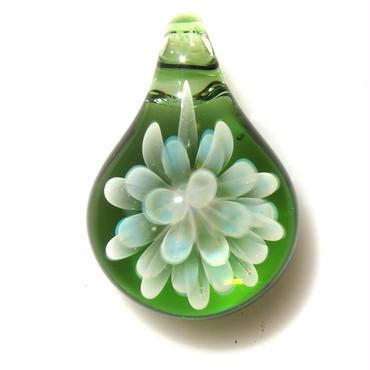 [MCN-62] mini clear flower pendant