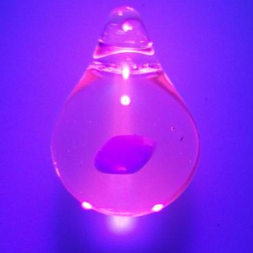 [uvOP-27] uv opal pendant