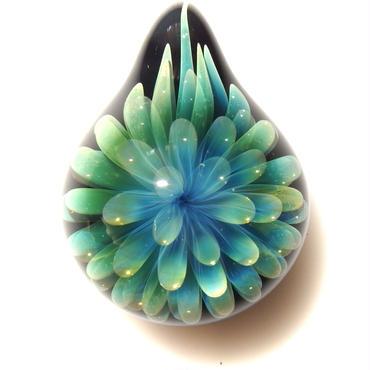 [FG-35] gradation flower pendant