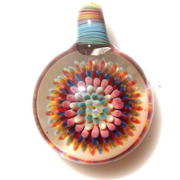 [CPF-05] clear poisonous flower pendant