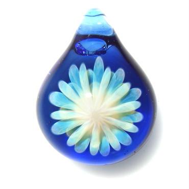 [MCYF-29]mini clear yellow flower pendant
