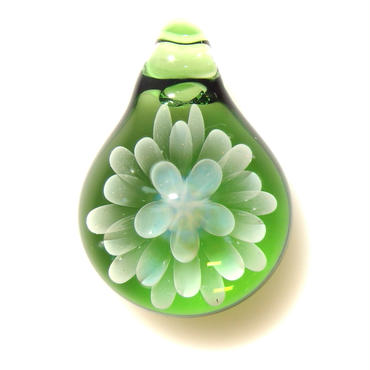 [MCN-33] mini clear flower pendant