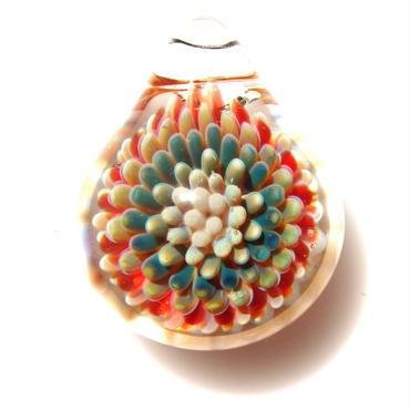 [MCPF-34]mini clear poisonous flower pendant