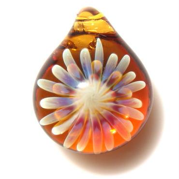 [MCUN-56] mini clear unber flower pendant