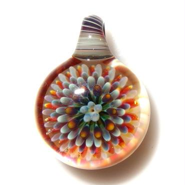 [MCPF-56]mini clear poisonous flower pendant