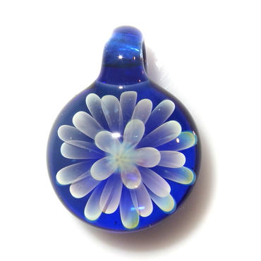 [MCN-77] mini clear flower pendant
