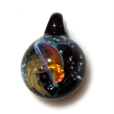 [UCK-20] deep sea crescent jellyfish pendant