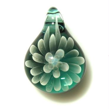 [MCN-68] mini clear flower pendant
