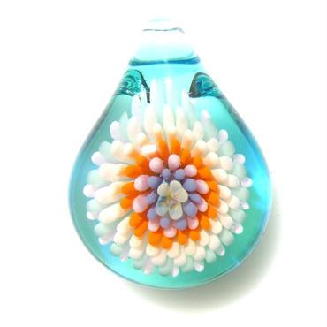 [MCCF-23]mini cute clear flower pendant
