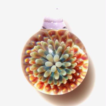 [MCPF-20]mini clear poisonous flower pendant