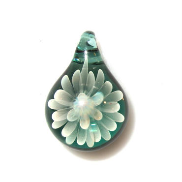 [MCN-79] mini clear flower pendant