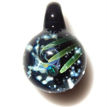 [UBMP-39] meteor black planet pendant
