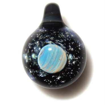 [UP-38] glasxy planet pendant