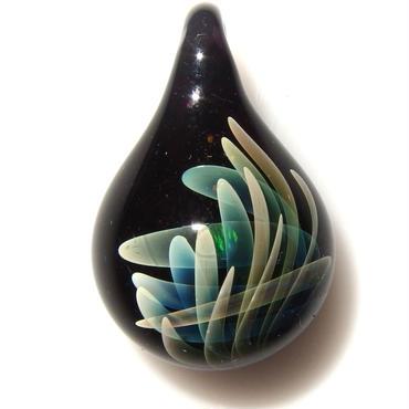 [MOF-91]mini flow opal pendant