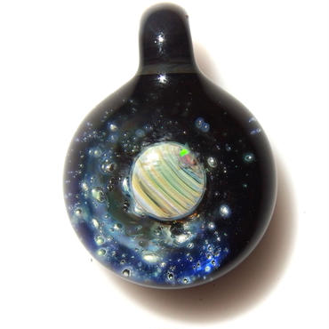 [USP-06]glasxy star planet pendant